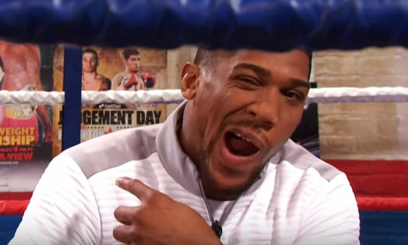 Watch: Joshua Does Impression Of Wilder